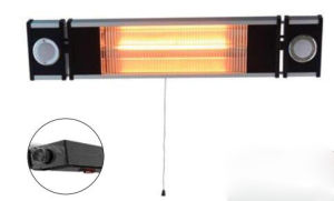 Wall Amounted Electric Heater Infrared Outdoor Heater with Splash Water Protected IP65 pictures & photos