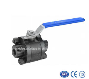 3PC Forged Steel Inside Thread Ball Valve (Q11F-800LB) pictures & photos