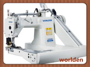 Wd-927 Double-Needle Chain Stitch Sewing Machine pictures & photos