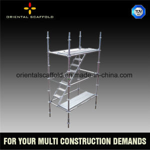 Durable Scaffolding for Building Construction Modeling Ringlock Scaffolding System pictures & photos