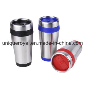16 Oz Stainless Steel Cup with Screw on Lid pictures & photos