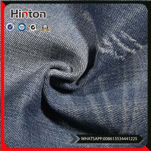 Woven Dobby Cotton Stretch Denim Fabric pictures & photos