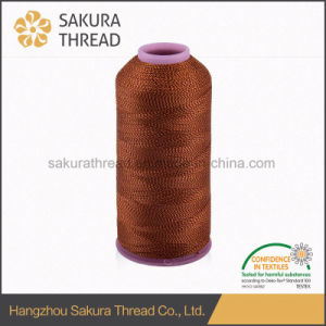 100% Embroidery Polyester Thread 4000yard/Cone pictures & photos