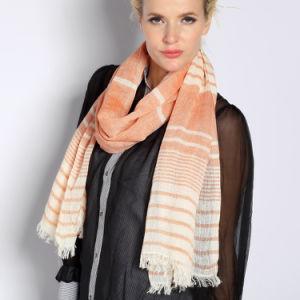 Cotton & Linen Shawl (FRbtc20.2) pictures & photos
