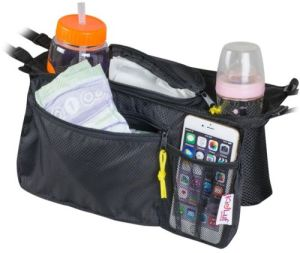 Universal Stroller Organizer Bag with 2 Cup Holders pictures & photos