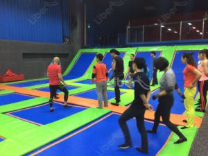 Hot Design CE Approved Cheap Price of Indoor Trampoline Store pictures & photos