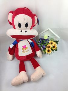 Big Mouth Monkey Plush Toy, Fashion Stuffed Monkey Toy 75cm*32cm (MK01)