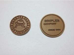 Manufacturer Custom High Quality Leather Label pictures & photos