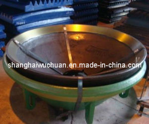 Crusher Manganese Parts Mantle with High Quality pictures & photos