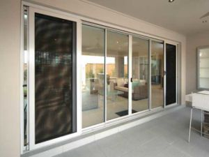 China Factory Aluminium Stacking Door, Bi-Folding Doors
