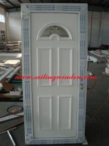 PVC Doors- PVC Panel Front Door pictures & photos