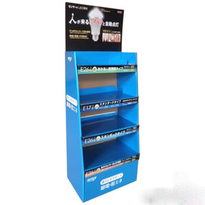 Custom Supermarket Advertising Shelf PVC Display pictures & photos