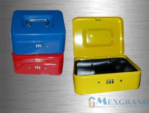 Lockable Combination Cash Box with Tray (MG-200CBM) pictures & photos