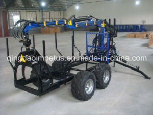 Log Crane Loader with CE Certificate pictures & photos