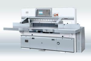 Microcomputer Double Worm Wheel Paper Cutting Machine (QZYK92C)