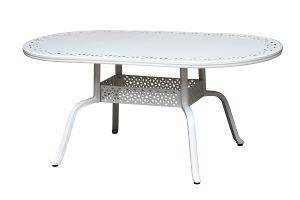 Aluminum Oval Dining Table & Garden Table (DT2010AA01 / DT1810AA06 / DT1690AA03)