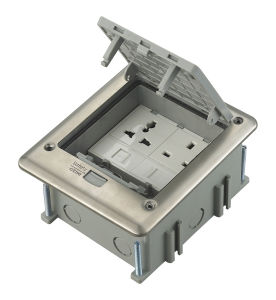 IP66 Outdoor Waterproof Instabus Eib Functionfloor Socket Junction Box Outlet pictures & photos