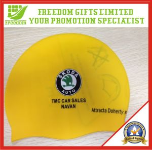 Most Popular Rubber Swimming Cap (FREEDOM-SC006)