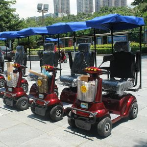 China ce certificate electric golf scooter for elderly for Motorized carts for seniors