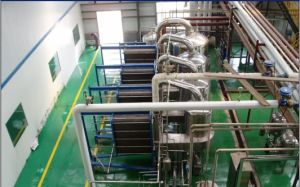 Four Effects Plate Evaporation Device From China