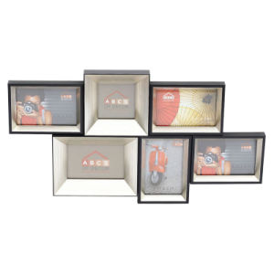Simple Design Silver Collage Photo Frame (PS-0455)