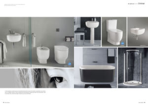 Two Piece Toilet (Christal)