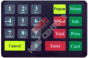 Plastic Keypad (Petroleum Equipment)