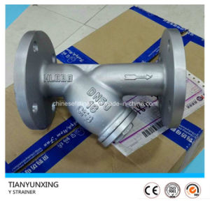 Ss316 Flanged End Filter Stainless Steel Y Type Strainer pictures & photos