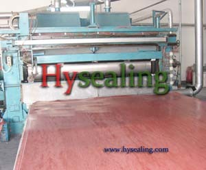 Non Asbestos Gasket Sheet Machine Process Line pictures & photos