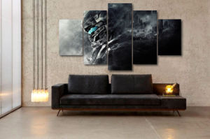 HD Printed Halo 5 Guardians Painting Canvas Print Room Decor Print Poster Picture Canvas Mc-102 pictures & photos