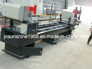 Double Miter Cutting Saw for PVC and Aluminum Profiles pictures & photos