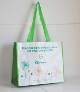 PP Non Woven Shopping Bag with Lamination pictures & photos
