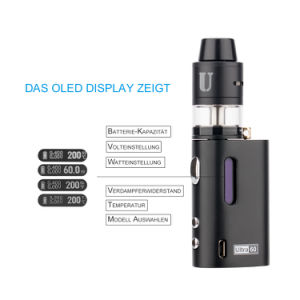Leading Quality Ultra Vape Mod HD Display Jomo Ultra 60W Liquid for The Electronic Cigarette pictures & photos