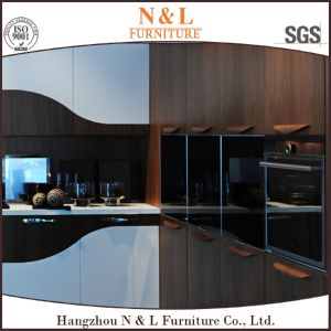 N&L Custom Made Antique Furniture Wood Veneer Modern Kitchen Cabinet Furniture pictures & photos