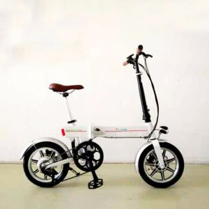 2017 New 36V Lithium Battery Folded Electric Bike 1401 pictures & photos