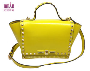 Fashion Pill Rivets Candy-Color Shoulder Bag N-1081