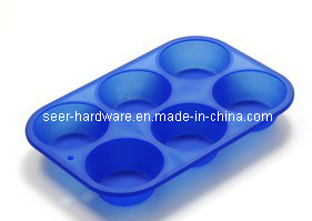 Silicone Gel Round Shape Cake Mold (SE-299) pictures & photos