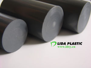 PVC Dark Grey Rod pictures & photos
