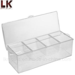 Brilliant Acrylic Transparent Plastic Molded Food Storage Containers pictures & photos