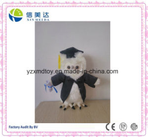 New Design Doctor Owl Plush Toy for Student pictures & photos