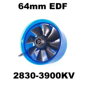 China mystery edf plus hl6408 2830 3900kv brushless motor for Bureau edf 64