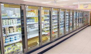 Advanced Multideck Showcase with Glass Door pictures & photos