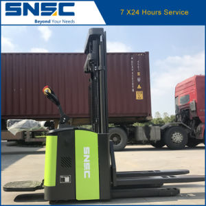 Heavy Duty 2 Ton Electric Pallet Stacker Price dB20 pictures & photos