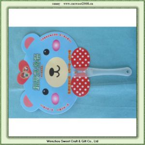 Summer New Design Gift PP Round Fan (YF06) pictures & photos