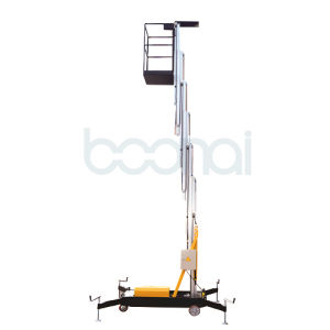 Single Mast Aerial Work Platform Max Height of Platform (10m) pictures & photos
