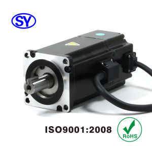 400W AC Servo Electrical Motor for CNC Router (60SV400AA30A) pictures & photos