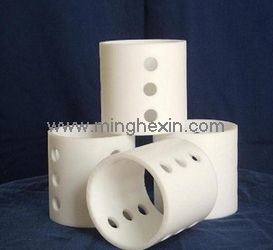 White Plastic Injection Part with ISO SGS