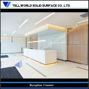 Reception Countertop Materials : ... Modern Acrylic Solid Surface Hotel Reception Countertop (TW-MART-113