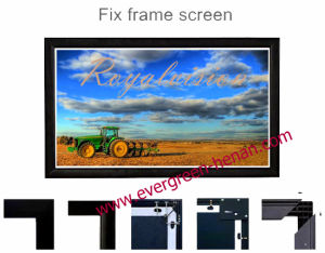 3D Projector Screen - Fixed Frame Screen pictures & photos