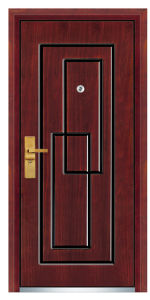Steel Wooden Armored Door with Modern Style pictures & photos